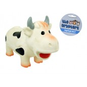 (the grunters) Latex Cow Dog Toy