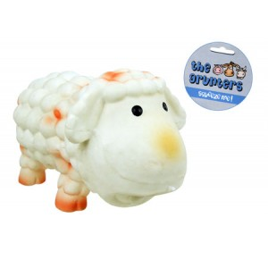 (the grunters) Latex Sheep Dog Toy