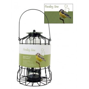 (Feeding Time) Wild Bird Squirrel Proof Seed Lantern