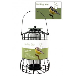(Feeding Time) Wild Bird Squirrel Proof Nut Lantern
