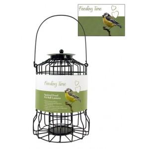 (Feeding Time) Wild Bird Squirrel Proof Fat Ball Lantern