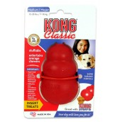 (KONG) Classic Dog Treat Toy Medium
