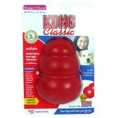 (KONG) Classic Dog Treat Toy X Large