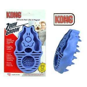 (KONG) Zoom Groom Multi-Use Dog Brush