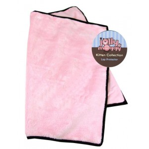 Jolly Moggy Kitten Collection Lap Protector Pink