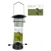 (Feeding Time) Wild Bird Deluxe Nut Feeder Gunmetal Finish Small