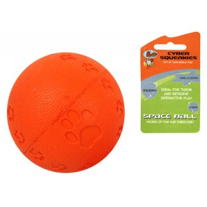 (Cyber Squeakies) Space Ball (Orange)