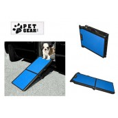 (Pet Gear) Bi-Fold Pet Ramp (Blue)