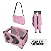 (Pet Gear) Home N Go Portable Pet Pen (Pink)
