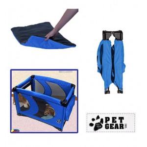 (Pet Gear) Home N Go Portable Pet Pen (Blue)