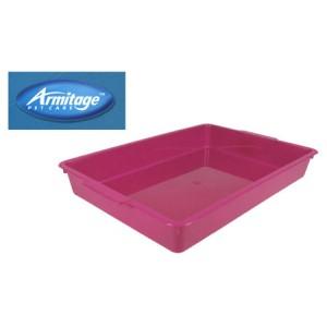 (Armitage Pet Care) Kitten Litter Tray Pink