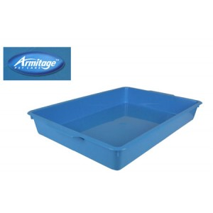 (Armitage Pet Care) Kitten Litter Tray Blue