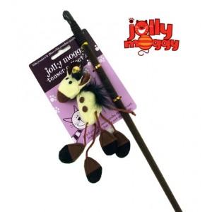 (Jolly Moggy) Jingle Farmyard Cat Teaser Horse