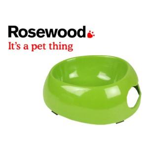 (Feed-Time) Deluxe Melamine Dog Bowl Medium 7.5inch Green