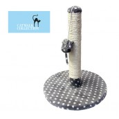 (Catwalk Collection) DIJON Plush Cat Scratcher and Climber