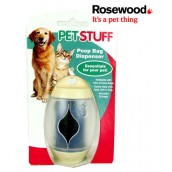 (Pet Stuff) Poop Bag Dispenser Cream