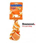 (twistable) tugz Tennis Ball Tug 3inch Orange