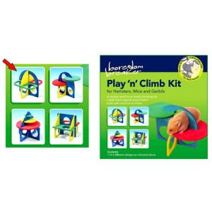 (Boredom Breaker) Play 'n' Climb Small Animal Climb Kit 1