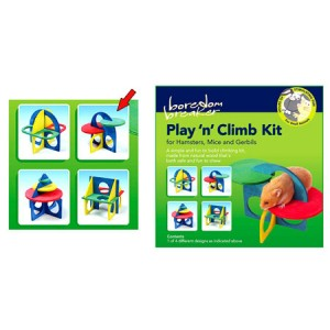 (Boredom Breaker) Play 'n' Climb Small Animal Climb Kit 2