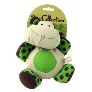 (Play-time) Toy Collections Canvas Cuddly Zoo Dog Toy