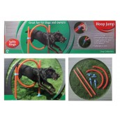 (Dog Collection) Agility Range Hoop Jump