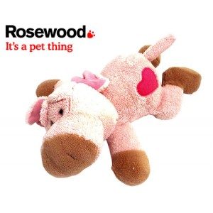 (Rosewood) Chubleez Farmyard Friend Pig Dog Toy
