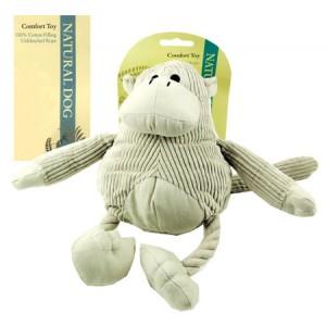 (Natural Dog) Comfort Toy Jungle Monkey