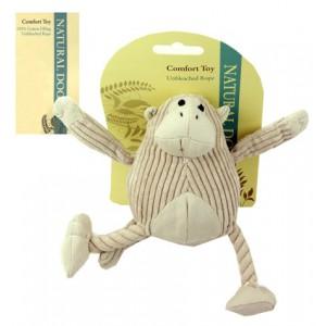 (Natural Dog) Comfort Toy Mini Jungle Monkey