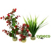 SYDECO Nature Collection Aqua Flora Aquaplant Trio Red/Green