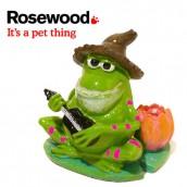 (Fun Aquarium Decor) Lily Pad Frog Critter