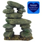 Blue Ribbon Aquarium Decor Tall Pebble Archway