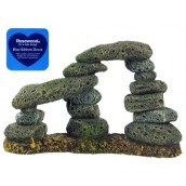 Blue Ribbon Aquarium Decor Twin Pebble Archway