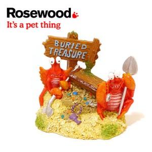 (Fun Aquarium Decor) Treasure Trove Crab