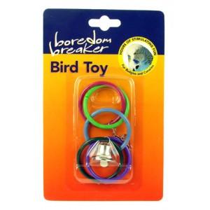 (Boredom Breaker) Bird Toy Olympic Rings