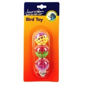 (Boredom Breaker) Bird Toy 3 Lattice Balls