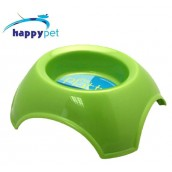 (happypet) Pet: Platter Feeding Bowl 800ml Green