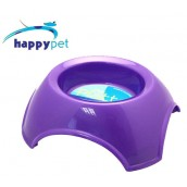 (happypet) Pet: Platter Feeding Bowl 1600ml Purple