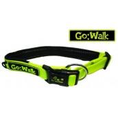 Go Walk Dog Collar Green Medium