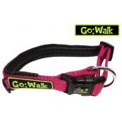 Go Walk Dog Collar Pink Medium