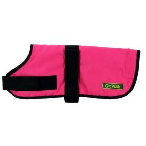 (Go:Walk) Durable Dog Coat Pink Medium