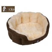 (YAP Dog) Semmula Heavy Duty Oval Dog Bed 18inch