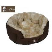(YAP Dog) Peluchi Giraffe Oval Dog Bed 34inch