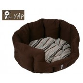 (YAP Dog) Toulouse Oval Dog Bed 18inch