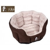 (YAP Dog) Fabriano Oval Dog Bed 26inch