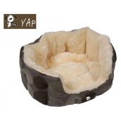 (YAP Dog) Zacht Supersoft Oval Dog Bed 18inch