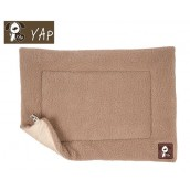 (YAP Dog) Cossii Lambs Wool Cage Mat 29 x 49inch Beige