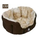 (YAP Dog) Giraffe Oval Cat Bed 18inch
