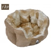 (YAP Dog) Delicato Oval Cat Bed 18inch