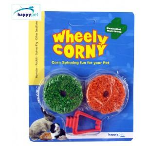 (happypet) Small Animal Wheely Corny