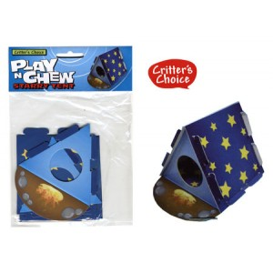 (Critters Choice) Small Animal Play n Chew Starry Tent